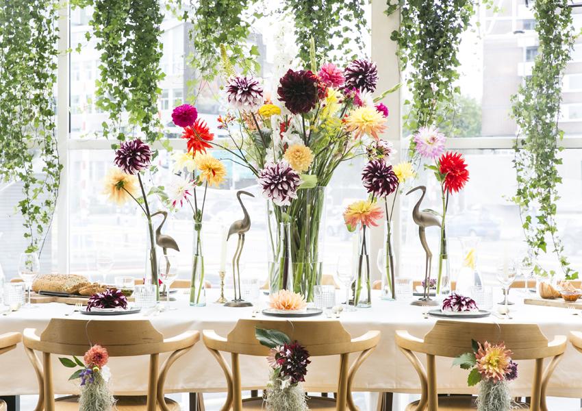 Der Herbst Verlangt Nach Einer Dahlien Hochzeit Toll Was Blumen Machen