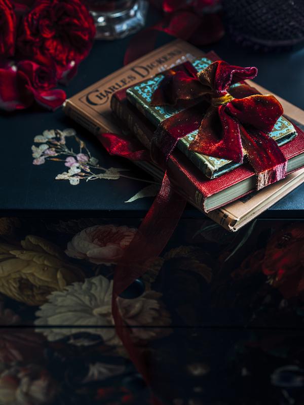 diy ein pers nliches weihnachtsgeschenk mit blumiger note. Black Bedroom Furniture Sets. Home Design Ideas