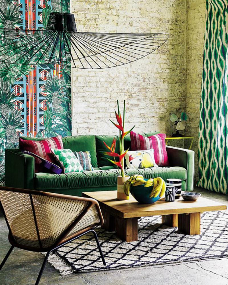 holen sie den blumigen flair aus s damerika nach hause toll was blumen machen. Black Bedroom Furniture Sets. Home Design Ideas