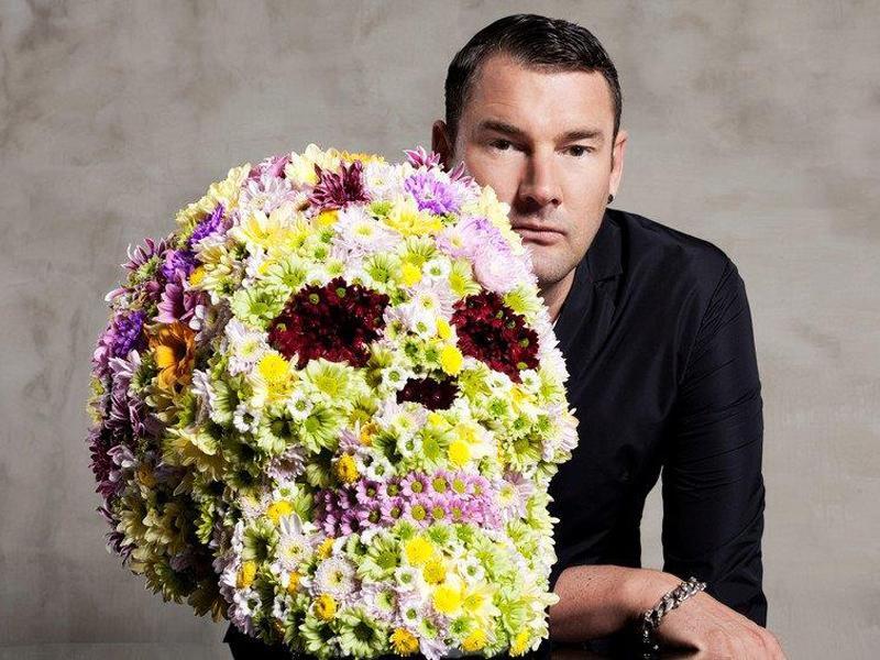 Der Chrysanthemen-Skull von Michael Michalsky