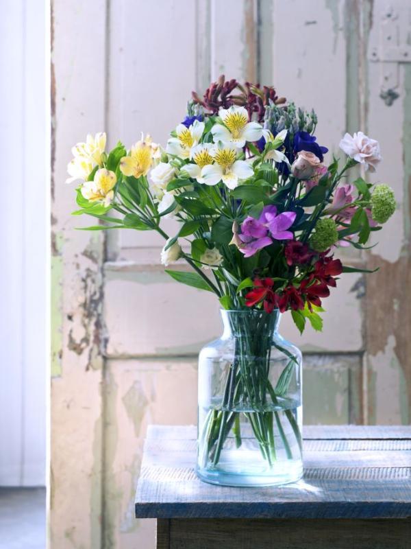 vase fr eine blume blau schwarz grau farben europischen moderne matt keramische vasenblume gef. Black Bedroom Furniture Sets. Home Design Ideas